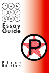 essay guide pwn test prep pwn the sat essay guide front cover