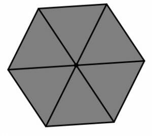 how to find length of hexagon