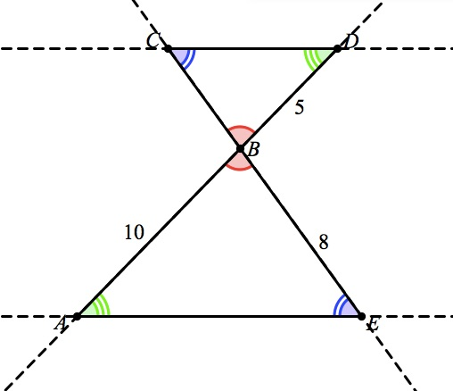 (It Might Be Easier To See The Alternate Interior Angles If You Extend The  Linesu2026expand The Image On The Right.)